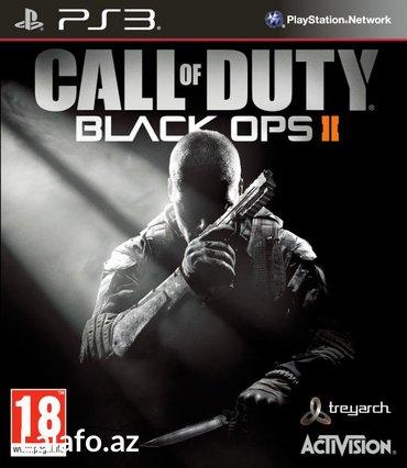 """Bakı şəhərində """"Call of Duty: Black Ops 2"""" Ps3 diski"""