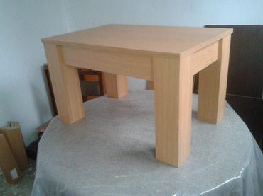 -klub sto se izradjuje od univera debljine 18mm u bukva boji - Belgrade