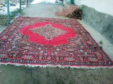 продаю красный палас 3×2 цена 3500. ковер  5×4 или 5. цена -5000 в Бишкек