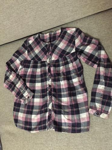 Рубашка на 10-11лет. Б/у в очень хоршем в Бишкек