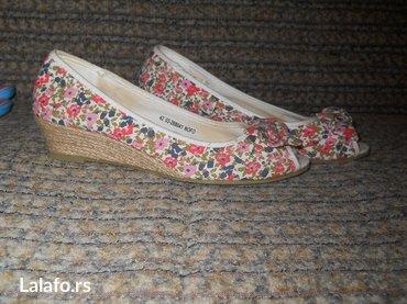 Moderne letnje cvetne cipelice. Iz svedske. Broj 42 - Paracin