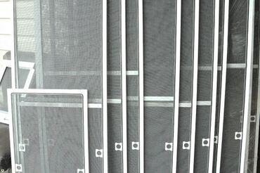 Витражи на окна - Кыргызстан: Маскитные сетки замеры доставка установки  Обычные Турецкие  Внутренн