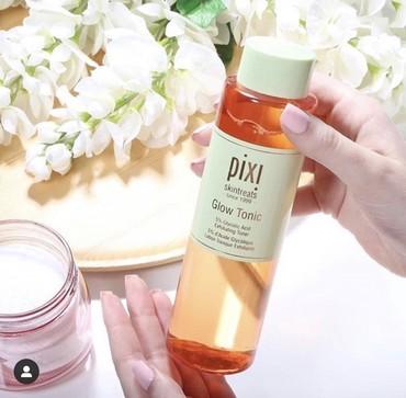 средства по уходу за телом в Кыргызстан: Pixi Beauty, Glow Tonic для сверкающей кожи Абсолютный бестселлер брен