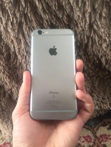 Продаю iPhone 6s 64 Gb. Цвет: Spece Gray, в комплекте зарядка и наушни в Бишкек