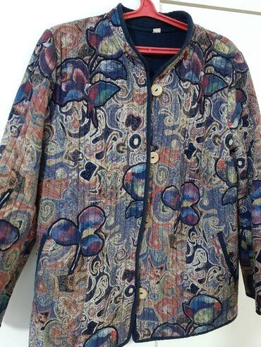 Деми куртка-бомбер. В идеальном состоянии. Мало носили. Размер 54-56(