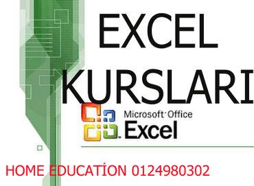 excel proqrami - Azərbaycan: Microsoft Excel kurslarıDövlət və özəl müəssisə, banklarda