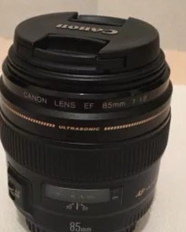 Xaçmaz şəhərində Canon Lens EF 85 f1/8 ela veziyyetde