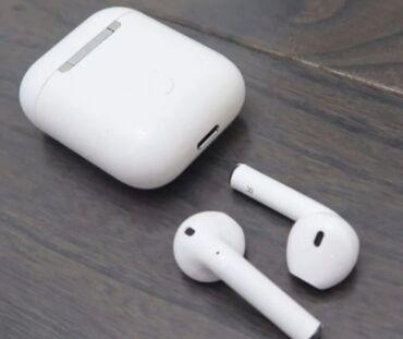 Купить бэушный телефон недорого - Кыргызстан: Airpods i300 наушники блютуз НаушникиНаушники блютузAirpodsAirdotsHand