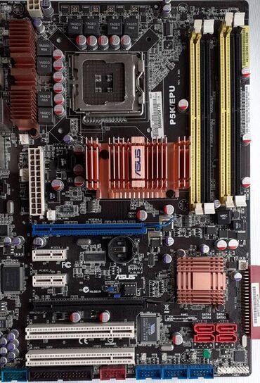 Maticna ploca | Srbija: Asus P5K/EPUU skroz novom stanju-Procesor: Intel Socket 775-Ram: 4