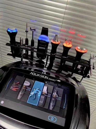 Аппарат косметологический 8 в 1 aquaskin smart korea rf - по