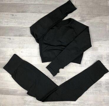Новый спортивный костюм!! размер S-M. цвет черный. заказывали 3400 с