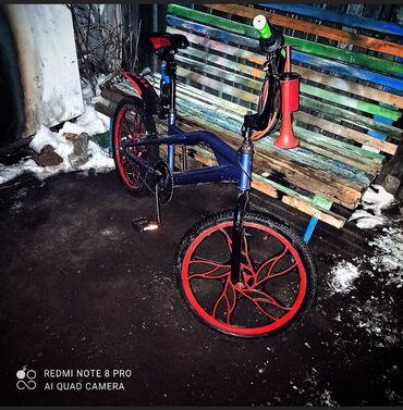 бмх за 10000 в Кыргызстан: Ассолому алейкум продается велосипед бмх ручной тормоз город чуй