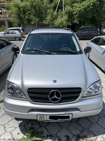 Mercedes-Benz в Кыргызстан: Mercedes-Benz ML 320 3.2 л. 1999 | 214389 км