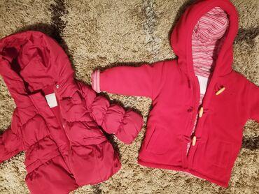 74 - Srbija: Deblji kaput đubretarac i Zara jaknica za bebe. U super stanju. Kaput