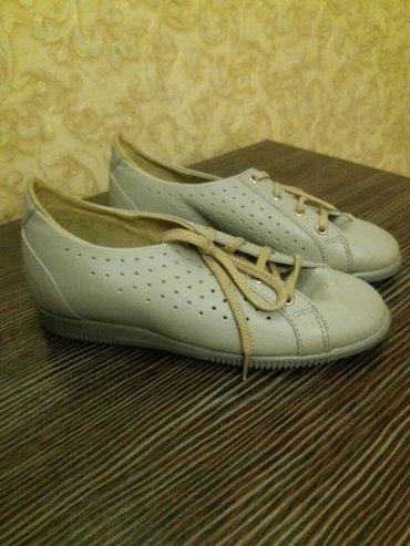 туфли на девочку,  новые, производство германия, кожанные размер-20. в Кок-Ой