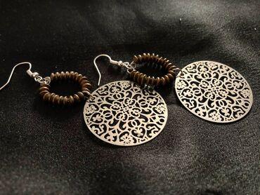 Χειροποίητα σκουλαρίκια από εμένα, καινούρια!!!