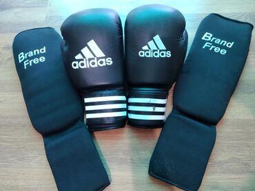 цена-боксерских-груш в Кыргызстан: Фута и боксёрские перчатки power200 использовано:1-неделя состояние