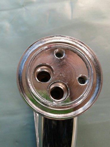 Slavina za sudoperu dubeca duza lula a ima i kraca lula sa dva creva s - Jagodina - slika 3