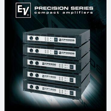 Знаменитые Усилители ELECTRO-VOICE CP1800 класса НУсилитель с двумя