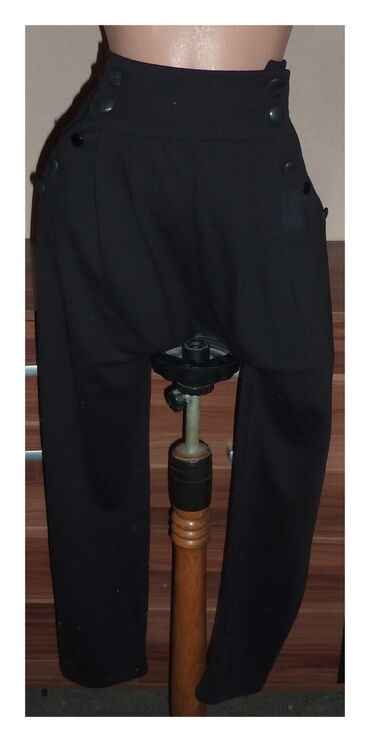 Pantalone miss ana - Srbija: MISS FREE CRNE PANTALONE VEL 28struk 36cmbokovi 49cmdubina napred