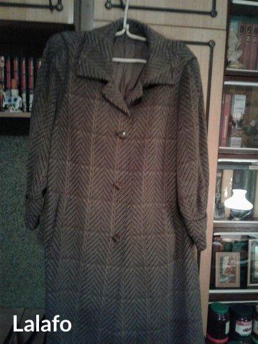 Пальто женское ламовое демисезонное р-р 48-50 б/у в Лебединовка