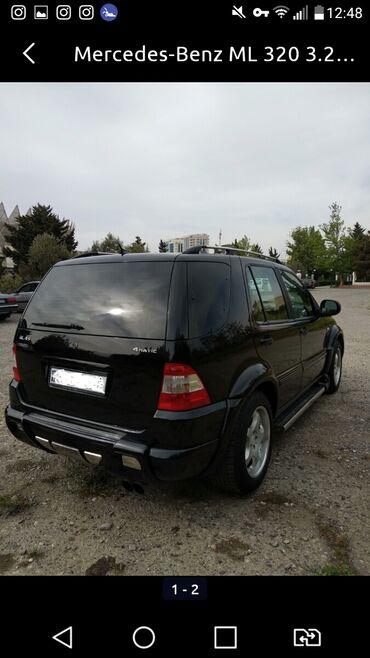 mersedes ml - Azərbaycan: Mercedes-Benz 2000   582550851 km