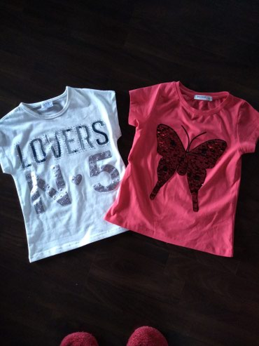 Majice za devojčice. Veličina 5-110. - Ruma