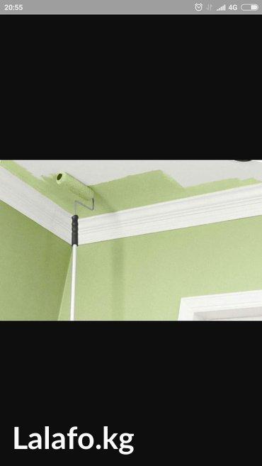 Покраска  побелка потолков стен качественно быстро в Лебединовка