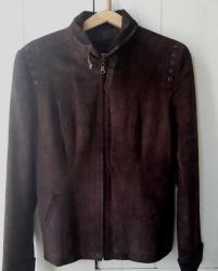 замшевые куртки в Кыргызстан: Замшевая куртка - пиджак. хорошее состояние. размер 46 - 48