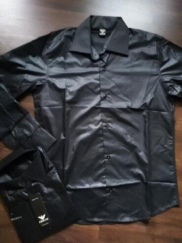 Armani nova muška košulja. Turski proizvodjač. Veličina M - Ruma