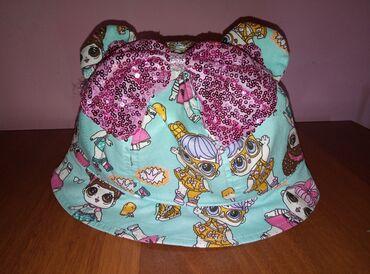 Верхняя одежда в Сокулук: Очень красивая панамка Лол для девочки. НОВАЯ. Не подошла по размеру
