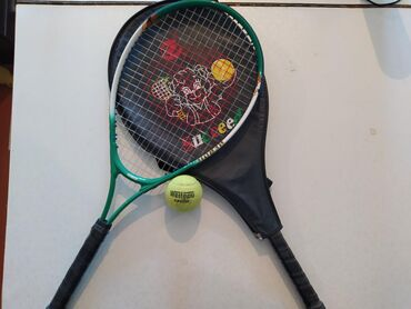 Теннисную ракетку для бегиннер