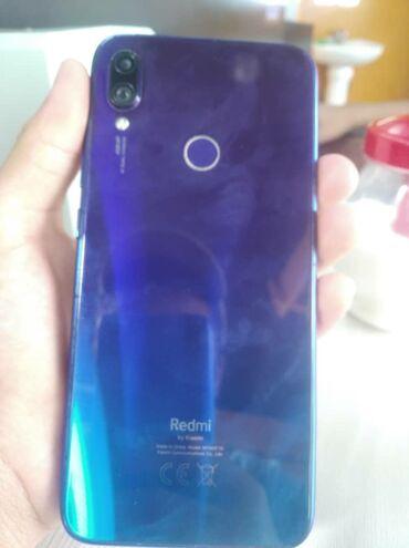Электроника в Кара-Суу: Б/у Xiaomi Redmi Note 7 128 ГБ Синий