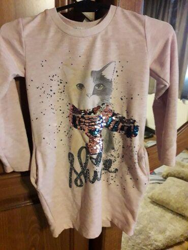 Skafander 116 - Pozarevac: Haljinice sa dugim rukavom za devojcice,dobro ocuvane,velicina je