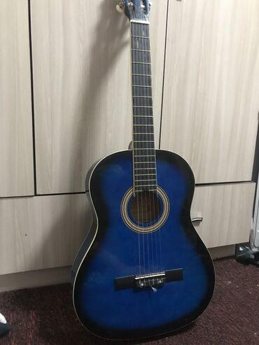 Спорт и хобби - Кок-Джар: Гитара в хорошем состоянии,звук отличное) с чехолом