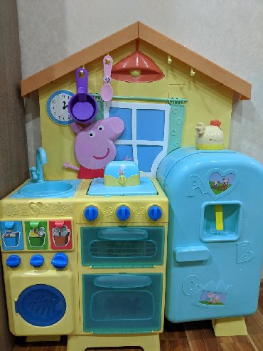 чек в Кыргызстан: Новая детская - кухня Свинка Пеппа оригинал. Привезена из другой