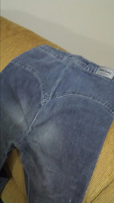 Dečje zenske pantalone, nošene, dužina 104cm, struk 64cm - Velika Plana - slika 2