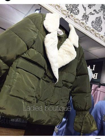 Продам осенью куртку цвета хаки в Бишкек