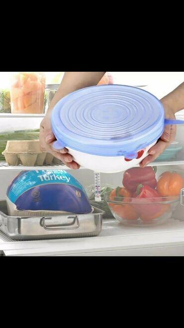 Kuhinjski setovi | Sivac: Sačuvajte Svežinu Vaše Hrane! Rastegljivi Silikonski Poklopci su savr