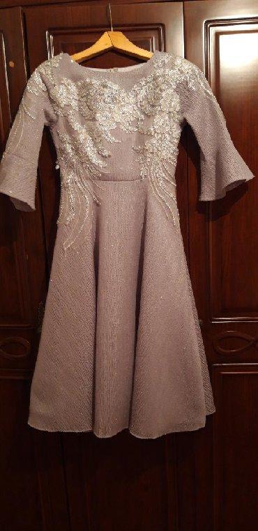 вечернее платье из франции в Кыргызстан: Продаю шикарное платье. Французкая длина. В живую ещё красивее