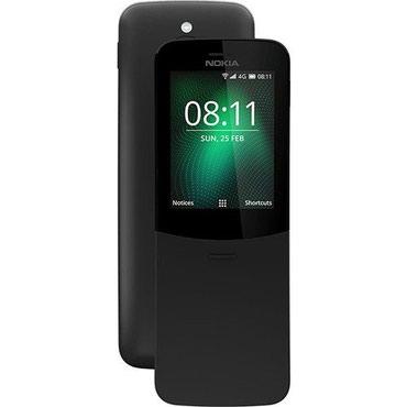 Bakı şəhərində Nokia 8110 Dual Sim + Zəmanətli + Qeydiyyatlı