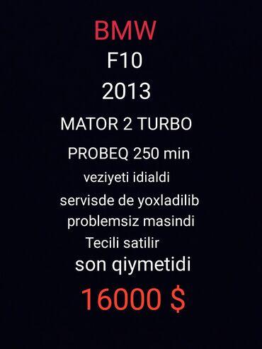 bmw z3 2 3 at - Azərbaycan: BMW 5 series 2013 | 2500 km