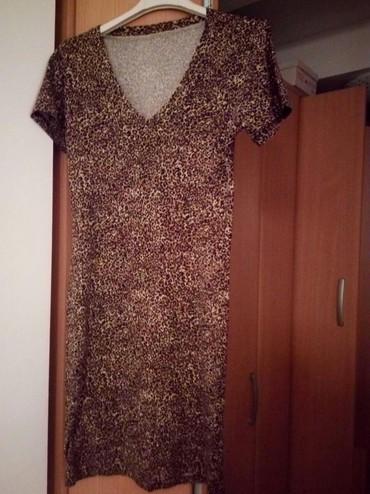 Haljine - Cacak: Lepa,pamučna haljina,univerzalna veličina.Jednom obucena
