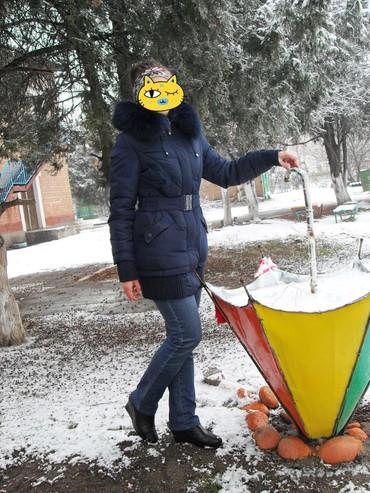 Женская одежда в Шопоков: Куртка тёплая 42-46 размер. женская. капюшон отстёгивается