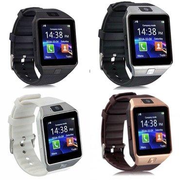 Smart watch dz09 pametan sat sim-kamera  boje: siva crna bela bronzana - Beograd