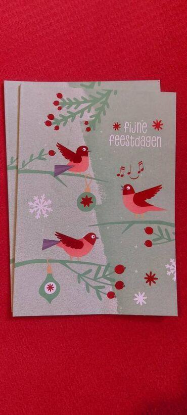 Новогодние открытки 2 штуки-5 манат