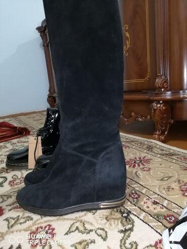 черное платье размер 38 в Кыргызстан: Состояние отличное, размер 38-38.5, зима, замша натуральная, скрытая