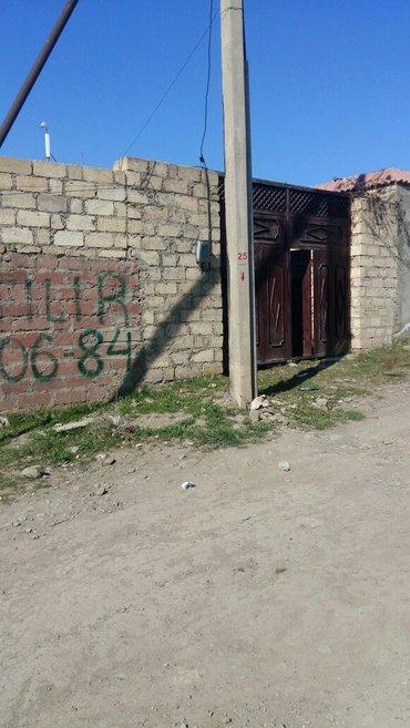Bakı şəhərində Gencade 6 sot ev satilir. 3 otaqli suyu iwiqi qazi var. Kim istese 3