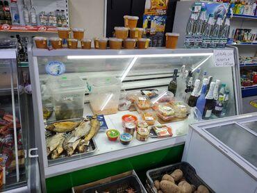 Б/у Холодильник-витрина Зеленый холодильник