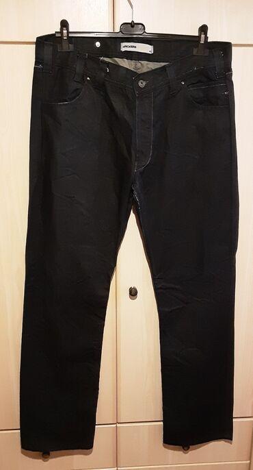 Τζιν - Ελλαδα: Τζιν ανδρικό, κλείνει με κουμπιά, size 40, χρώμα : σκούρο μπλε